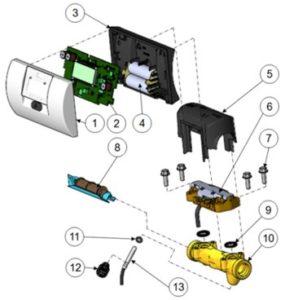 Multical 302 – схема подключения