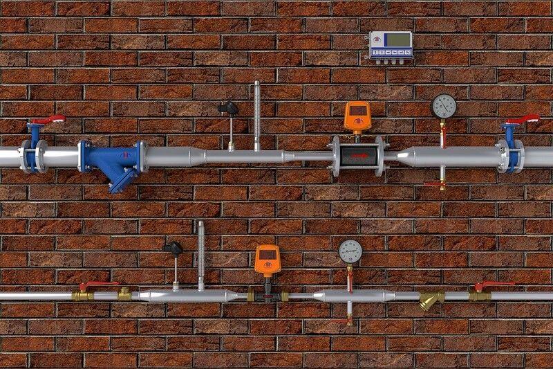 Rossweiner HeatPlus, схема подключения, теплосчетчик, счетчик тепла, Киев, Бровары, вопрос, ответ, рекомендация, эксперты, специалисты